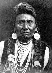 Jefe Joseph. Los Nativos Americanos de Yellowstone. Calafiana