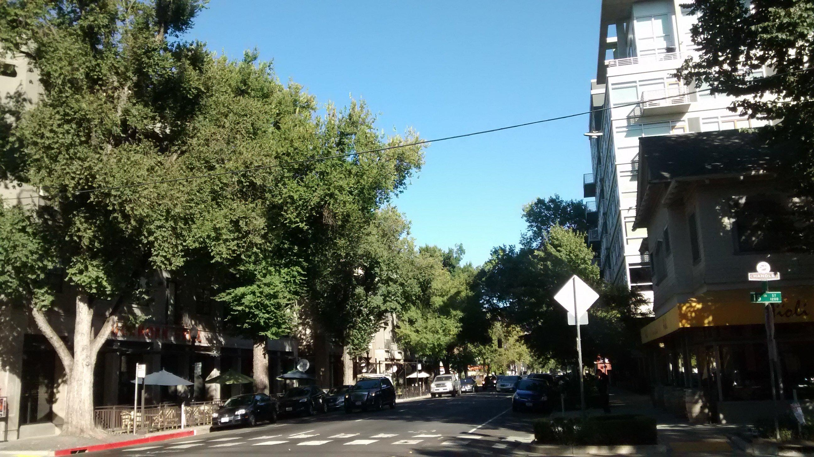 L St. Primeros días en Sacramento. Calafiana