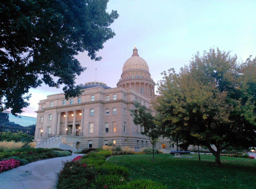 Capitolio en Boise. Yellowstone. Calafiana