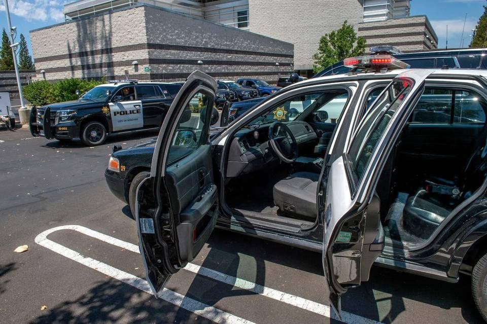 Coche de Policía Chevy Tahoe. Sacramento