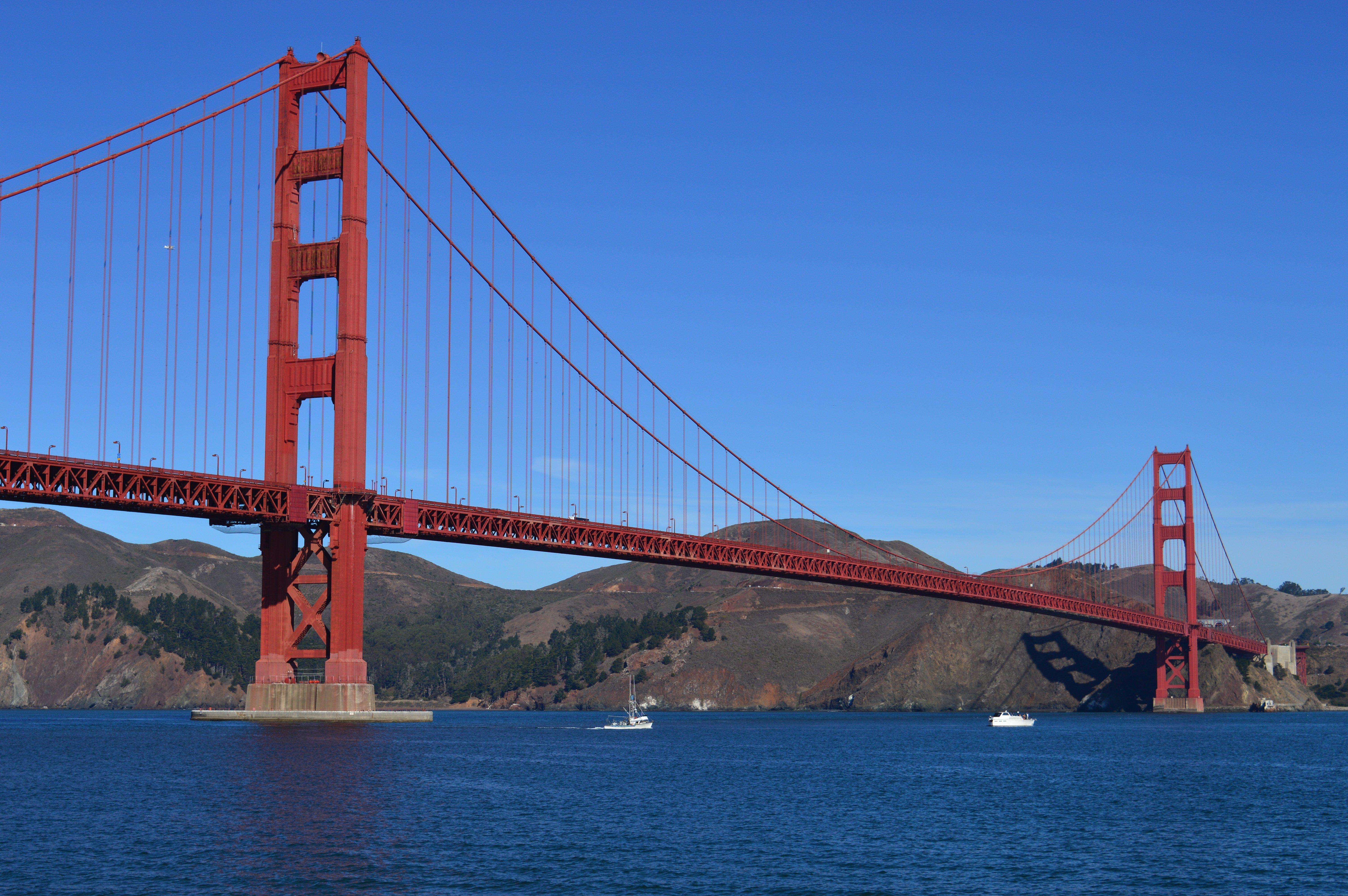 Golden Gate Bridge. Calafiana