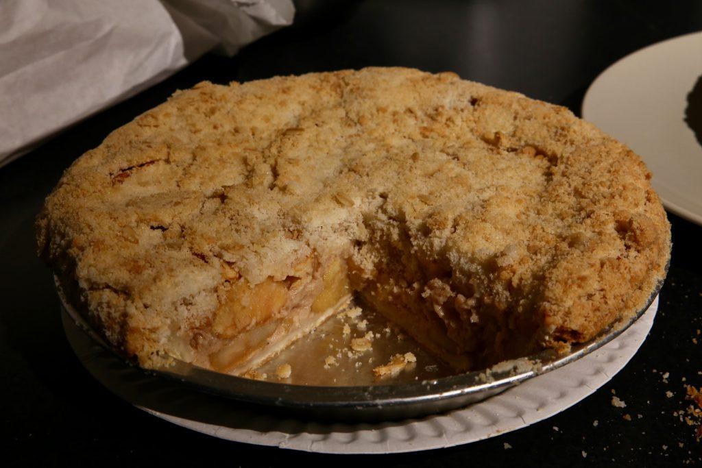 Buttermilk Apple Pie. Calafiana