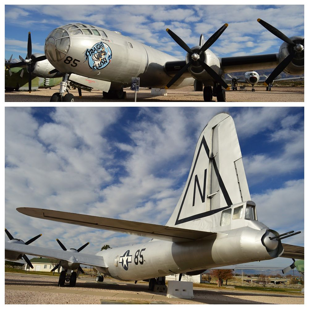 B-29 en Hill Aerospace Museum, Odgen, Salt Lake City.