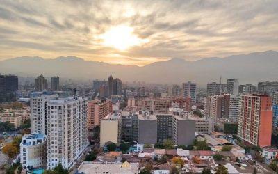 Amanecer en Santiago