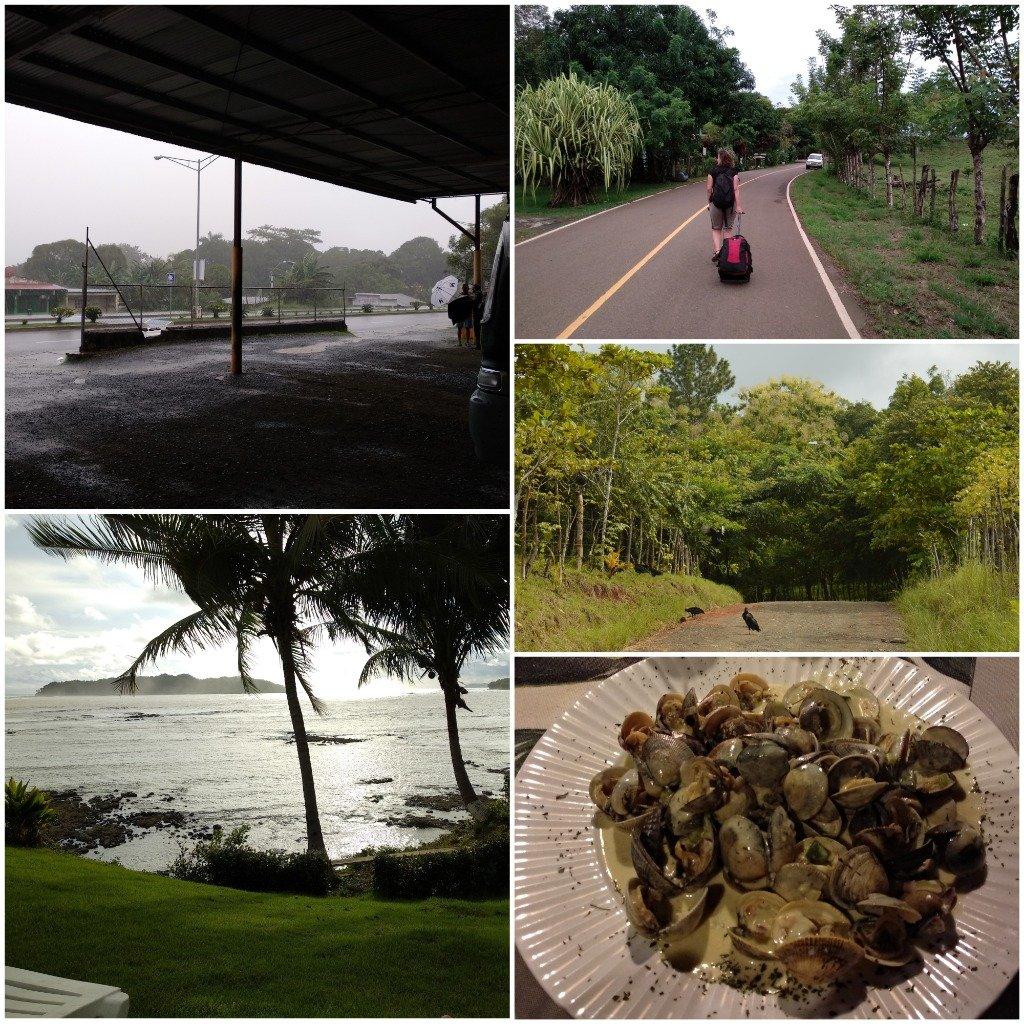 Atardecer y cena en Vista Coiba Villas & Restaurant